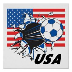 USA Soccer Team Posters