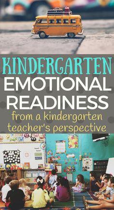 Kindergarten Emotional Readiness