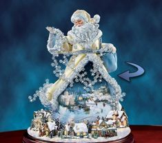 Thomas Kinkade Santas and Christmas Home Decor - carosta.com
