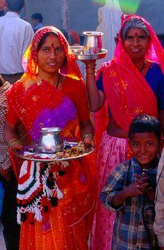 jour de fete à bijaipur (sud Rajasthan), via Flickr.