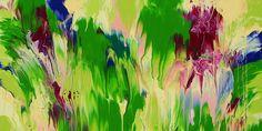 """Cassandra Tondro abstract painting """"Meltdown"""""""