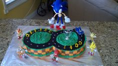 Sonic Cake for my nepher Dylan