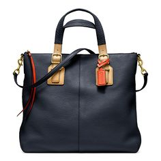 SOFT LEGACY RORY NORTH/SOUTH SATCHEL IN PEBBLED LEATHER | Lord and Taylor