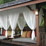 Patio White Shear Drapes #outdoorcurtains #patiopanels #patiodrapes