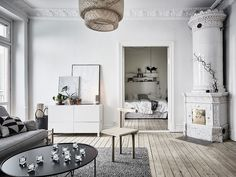 how are swedish apartments so gorgeous?!