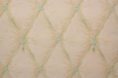 1940's Vintage Wallpaper Green Rope Tufted on by RosiesWallpaper, $14.00