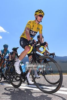 103th Tour de France 2016 Stage 9 - Christopher FROOME First Day in the Yellow Leader Jersey for 2016!