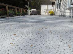 Duradek Ultra Sienna outdoor vinyl flooring provides a waterproof
