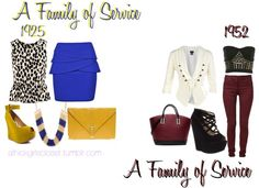"""A Family of Service"" by athickgirlscloset on Polyvore"