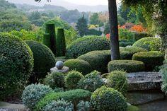 La Louve, garden in Bonnieux, Provence, designed by Nicole de Vésian.