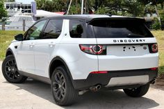 land rover discovery sport 2016 black package on white - Google Search