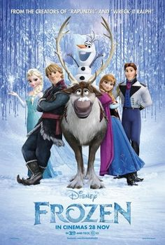 Frozen is a great movie that's family friendly and if you haven't seen it be sure to check it out some time ⛄⛄⛄