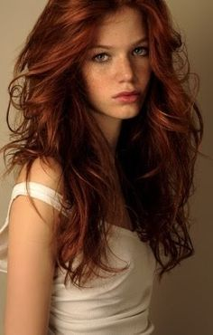 Auburn hair. Potential hair color.