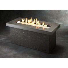 Outdoor GreatRoom Key Largo Fire Pit Table - KL-1242-MM