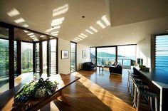 Beach House interior.