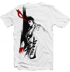 Street Fighter IV Ryu Zen Dragon T-Shirt