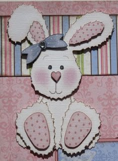 "The Avid Scrapper: ""Some Bunny to Love"" Premade Scrapbook Pages"