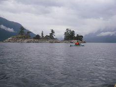 Kayaking - Desolation Sound area 2008 008