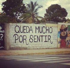 Queda mucho por sentir. / Acción poética-Santo Domingo