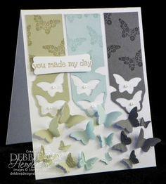 Schmetterlinge (Positiv + Negativ nutzen)