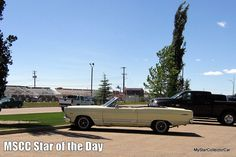 MSCC June 16 Star of the Day--a true 'carpe diem' car yesterday. READ MORE: http://mystarcollectorcar.com/mscc-june-13-star-of-the-day-68-charger-bullitt-cool-in-traffic/ #67FordFairlaneconvertible