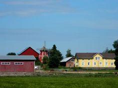Erkkilänmäki, tuulimylly. Windmill. - Vähäkyrö, Ostrobothnia province of Western Finland. . Pohjanmaa  - photo rai-rai