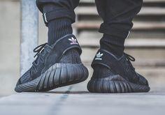 bca40cb210f adidas Tubular Doom Primeknit Black Adidas Tubular Doom