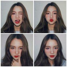 Most Beautiful Share the beauty and love Ulzzang Korean Girl, Cute Korean Girl, Asian Girl, Girl Photo Poses, Girl Photos, Selfi Tumblr, Moda Ulzzang, Selfie Foto, Korean Makeup Look