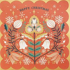 Discover recipes, home ideas, style inspiration and other ideas to try. Noel Christmas, Christmas Design, Vintage Christmas, Christmas Crafts, Card Patterns, Print Patterns, John Lewis, Scandinavian Folk Art, Christmas Drawing