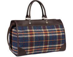 Blue Holdall Bag
