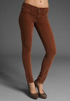 AG Burnt Orange Jegging Cord $168.  This makes me laugh.  Why would anyone pay that much for something this ugly?!
