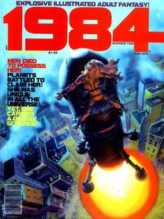 1984 -nº2 Richard Corben cover
