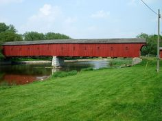 The Kissing Bridge  Woolwich, Ontario, Canada    This rickety covered bridge might not look like much, but the dreamy light inside earned it its name. It was originally built in 1881 and is Ontario's last remaining covered bridge.    Hermann Luken/Wikimedia Commons