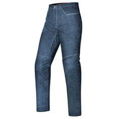 2b37a25e07e013 Calça Feminina X11 Jeans Motociclista Ride Kevlar Azul Com Proteções