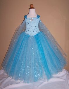 Queen Elsa Frozen tutu dress costume www.facebook.com/tessastutus