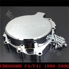 41.08$  Buy now - http://alig59.shopchina.info/go.php?t=32796259266 - Fit for Honda CBR600RR CBR600 F4 F4i 1999 2000 2001 2002 2003 2004 2005 2006 Motorcycle Engine Stator cover Chrome left side  #buychinaproducts