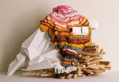 Aili Schmeltz. Utopian installations #art #installation #sculpure #utopia