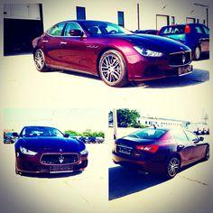 Maserati Ghibli Diesel - Rosso Folgore