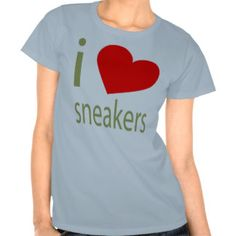 I LOVE SNEAKERS TSHIRT
