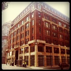 Horseferry House, the global headquarters for Burberry