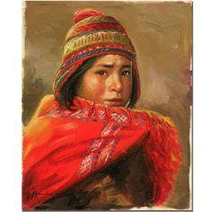 'Dia de Trabajo' by Jimenez Painting Print on Canvas