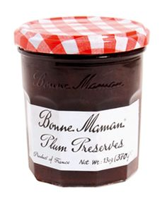 Bonne Maman preserves are the best... they remind me of my childhood. I'm bummed that it's hard to find Plum up here. No HFC or other additives. Just fruit, sugar, lemon juice and pectin. 100% natural.
