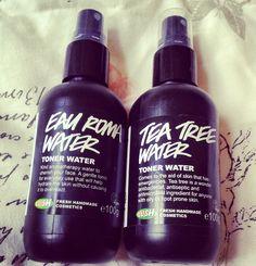 Lush Toner Waters Review   Tea Tree & Eau Roma