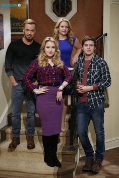 Joey Lawrence, Taylor Spreitler, Melissa Joan Hart and Nick Robinson
