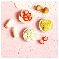 berry good - mini food #polymerclay #minifood #cane #cereal