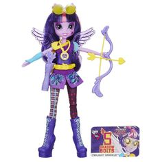 Twilight Sparkle Equestria Girls Friendship Games Sporty Style Deluxe Archery Doll