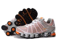 timeless design ff5e5 87dbb Find Women s Nike Shox TL Shoes White Orange Silver Cheap To Buy online or  in Pumaslides. Shop Top Brands and the latest styles Women s Nike Shox TL  Shoes ...