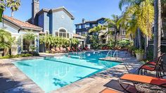 Take a dip in the swimming #pool at Capella at Rancho Del Oro #Apartment Homes in #OceansideCA! There are many #amenities for residents to enjoy.
