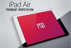Apple iPad Air Mockup Set - http://www.welovesolo.com/apple-ipad-air-mockup-set/
