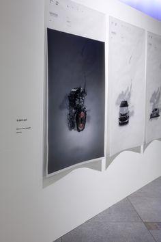 "honnda-showrExhibition at HONDA AOYAMA SHOWROOM / Poster Art for HONDA ""INSIGHT"" : artwork and design by shun kawakami, artless -  http://www.artless.co.jp/alog/artwork/4358/ oom3"